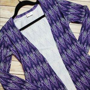 Lularoe Xs Caroline NWT Purple extra small soft